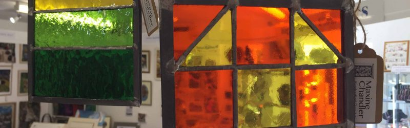 Maxine Chandlers Leaded Glass and Stained Glass Suncatchers